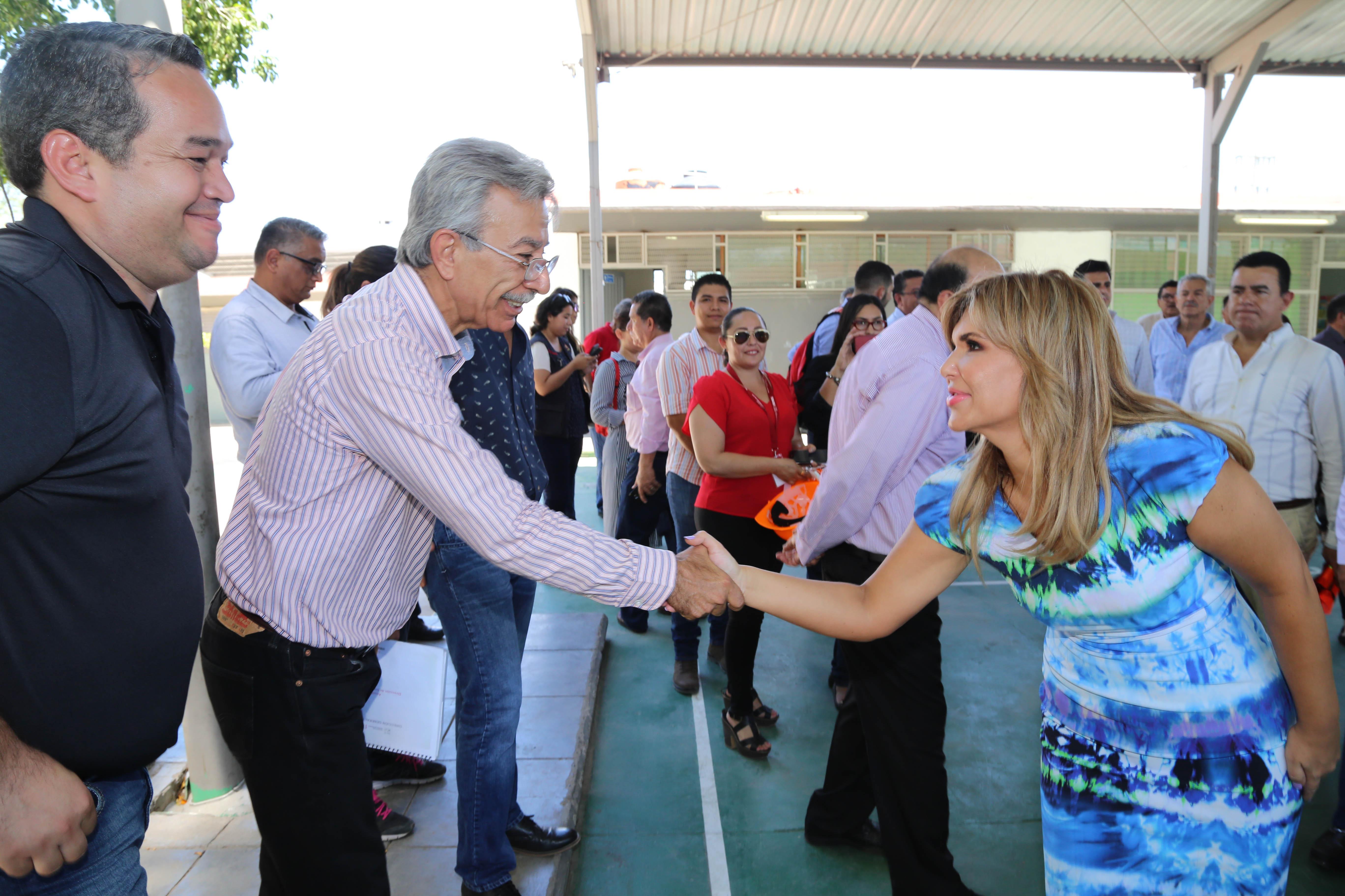 GOBERNADORA CLAUDIA : Invierte Estado 244 mdp en escuelas para regreso a clases